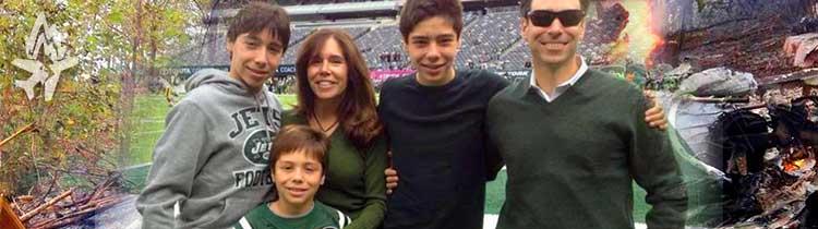 Семья Стейнберг, погибшая в авиакатастрофе