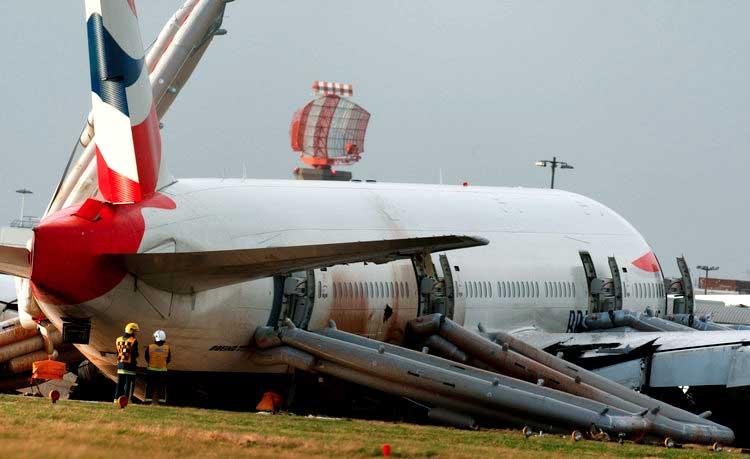 Расследование авиакатастроф 18 сезон 17 серия. Жесткая посадка в Хитроу
