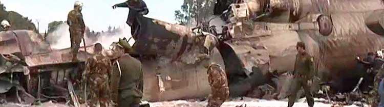 Авиакатастрофа в Алжире
