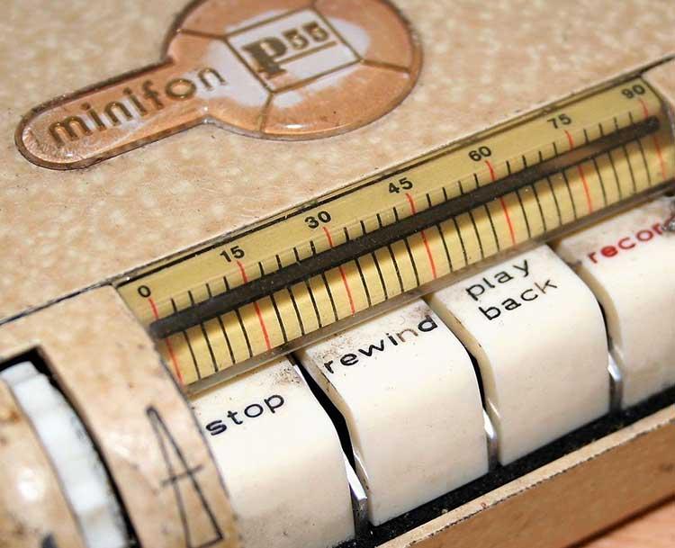 Minifon - первый карманный диктофон
